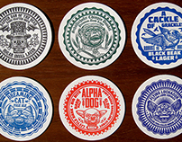 ChetArt Drink Coasters