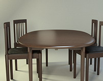Dining Chair & Table