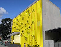 Fachada da Escola Livre de Cinema - Rio de Janeiro