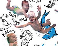 Underwater kids.