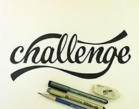 Thirty Days of Lettering