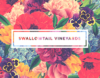 Swallowtail Vineyards Identity + Packaging