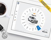 Volkswagen - Car configurator Website