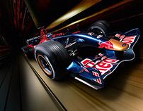 Red Bull Formula One - Design & Branding