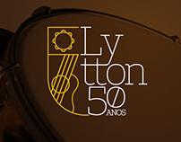 Lytton 50 Anos . Identidade de Marca