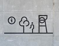 Silesian Museum - pictograms