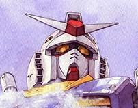 Gundam Fanart (watercolor)