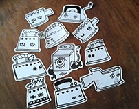 Plantsa stickers