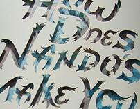 Nando's Campaign Manual - Print & Laser Cut