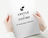 Argyle & Oxford 2nd Anniversary Look Book