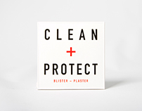 CLEAN + PROTECT - blister plaster