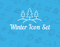 Free Icons. Winter Set