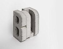 Concrete Bookend »Bold«