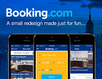 Booking.com - Redesign for fun