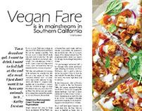 Vegan Fare | Magazine Layouts
