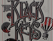 Black Keys Poster for Max Bash 2013