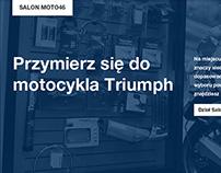 Triumph dealership website