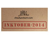 ChadwickArt Inktober 2014