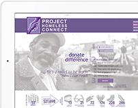 SF Project Homeless Connect | Web & Interactive Design