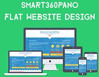 Smart360Pano Website Design