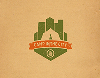 Camp in the City Logo