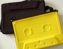 (W.I.D.) Cassatchel - 3D Cassette laptop sleeve