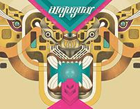 ALOJAGUAR | Diseño de artes para CD