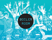 Boiler Room App Redesign