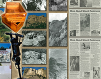 Mount Rushmore Collage