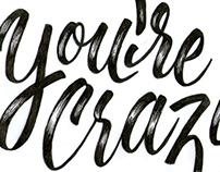 Youre Crazy!