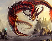 DRAGONS (digital paintings)