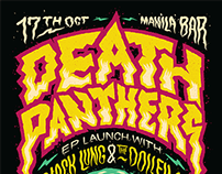 Death Panthers Poster