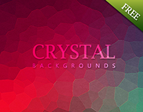 10 Crystal Mosaic Backgrounds - Free 02 Backgrounds