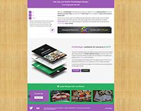 FlexibleVegan.com - Supreme Social WordPress Theme