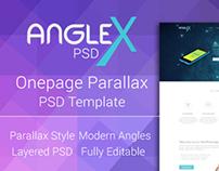 Onepage Parallax PSD Template Design