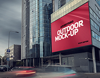 Outdoor AD Mock-Up