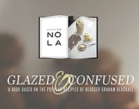 Book Release Poster—Glazed&Confused