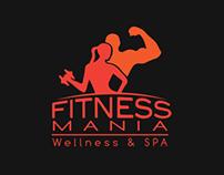 """Branding for """"Fitness Mania"""""""
