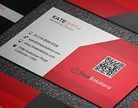 Clean Business Card