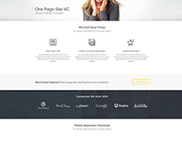 One Page Site - Supreme Shortcodes Visual Composer Page