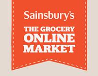 Sainsbury's: groceries online inforgraphics