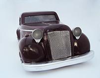 Vintage Car Scale Model