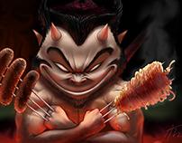 Devil Cook wolverine