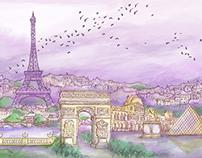 Melancholic Paris