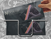 Flyer Mock-Up • for 9×4 and ISO/DIN long