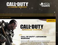 Call of Duty: Advanced Warfare Day Zero - Landing Page