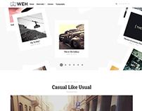 WEH - Responsive Blog Theme