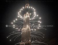 NY Eve at Burj Khalifa Dubai - 2013