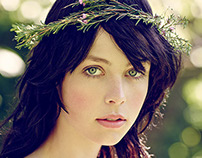Edie Campbell by Jason Bell