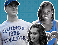 Quincy College Banners